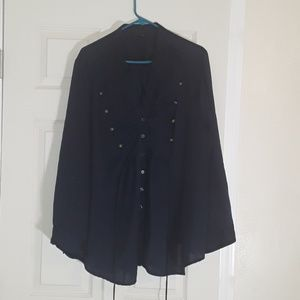 Tops - TORRID 7 FRONT BUTTONS TOP